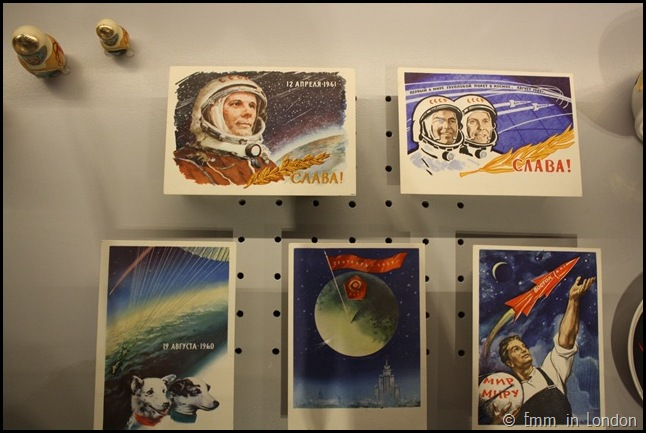 Cosmonauts postcards