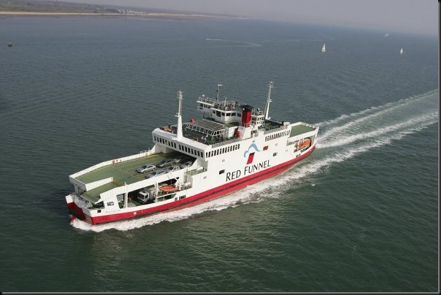 Red Funnel Ferry 2