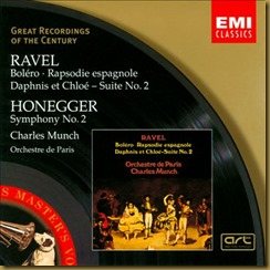 Ravel Rapsodia Munch EMI