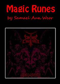 Cover of Samael Aun Weor's Book Magic Runes