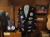 A jacket worn by Hank William's JR in the Country Music Hall of Fame in Nashville TN 09042011