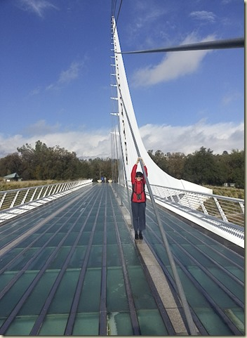 Redding River Walk & Sun Dial Bridge Rockey