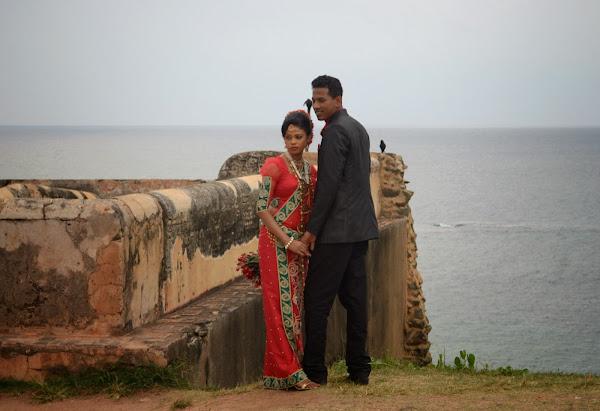 индусы, молодожены, невеста, жених