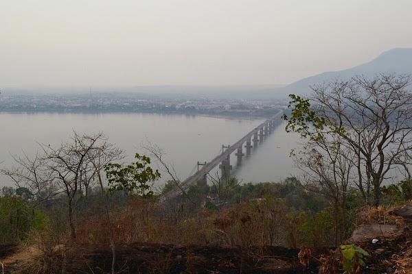 Меконг мост Паксе.