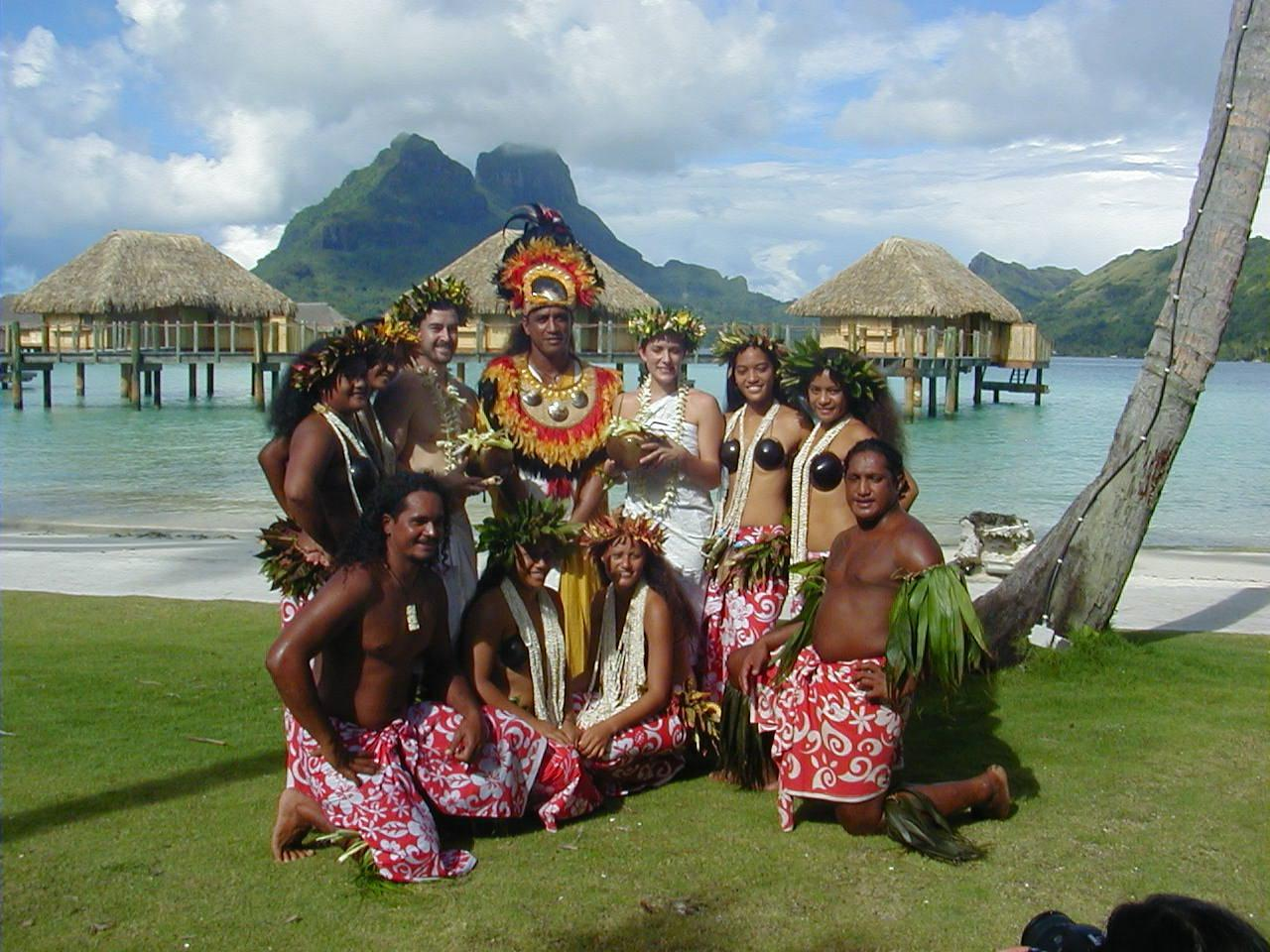 Wedding location at Bora Bora
