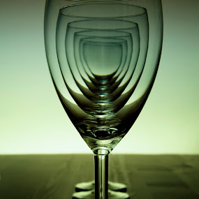 Six by John Iosifidis - Artistic Objects Other Objects ( water, wine, dinner, 6, food, glass, restaurant, fine, six )
