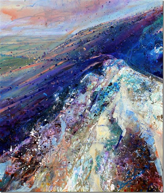 'Scarp Slope'-Lorna-Holdcroft-ENKAUSTIKOS
