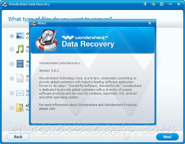 Wondershare Data Recovery 5