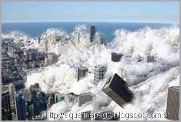 Inversão dos Polos e os Cataclisma com Tsunamis