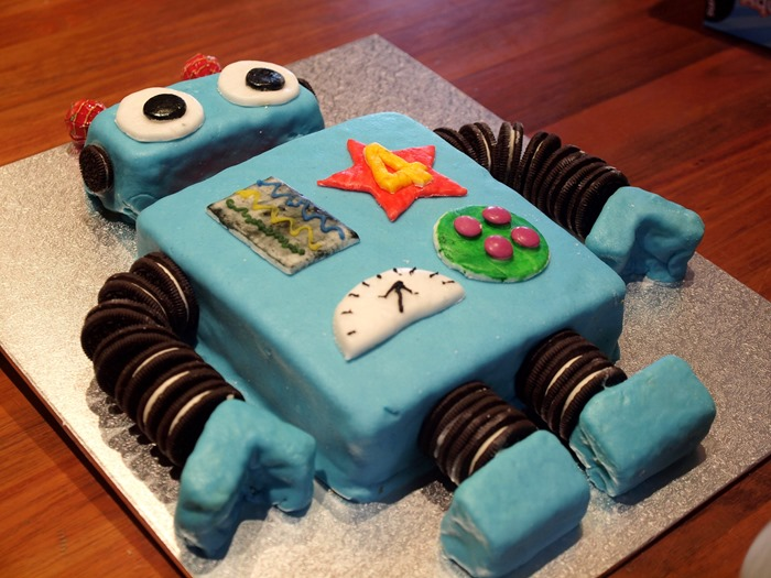 virtù - a robot cake for ode