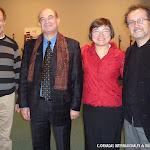 Daniel Bernaert, Giovanni Grano, Donatella Salvato y José Luis Ruiz del Puerto