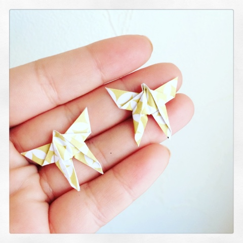 bijoux DIY origami