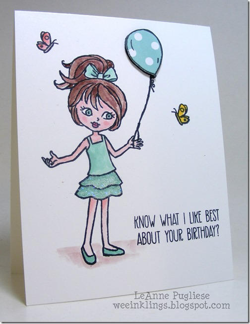 LeAnne Pugliese WeeInklings Hey Girl Stampin Up
