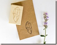 Crystal Rubber Stamp