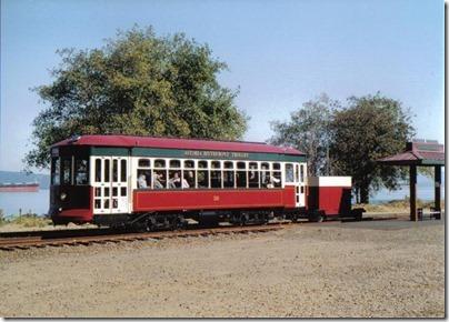 Astoria Riverfront Trolley at the Astoria Depot on September 24, 2005