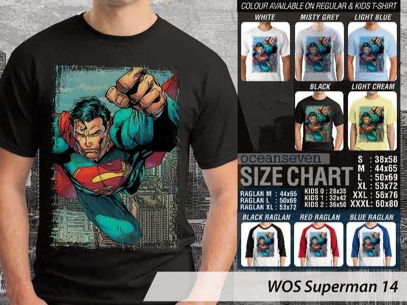 KAOS superman 14 Movie Series distro ocean seven
