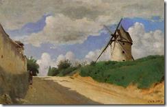 corot-molino-de-viento-en-la costa-pintores-y-pinturas-juan-carlos-boveri