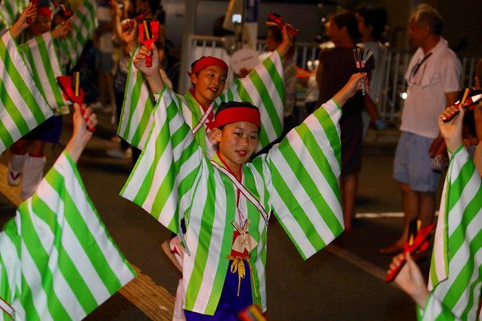 第59回よさこい祭り☆本祭2日目・上町競演場65☆上2目0352