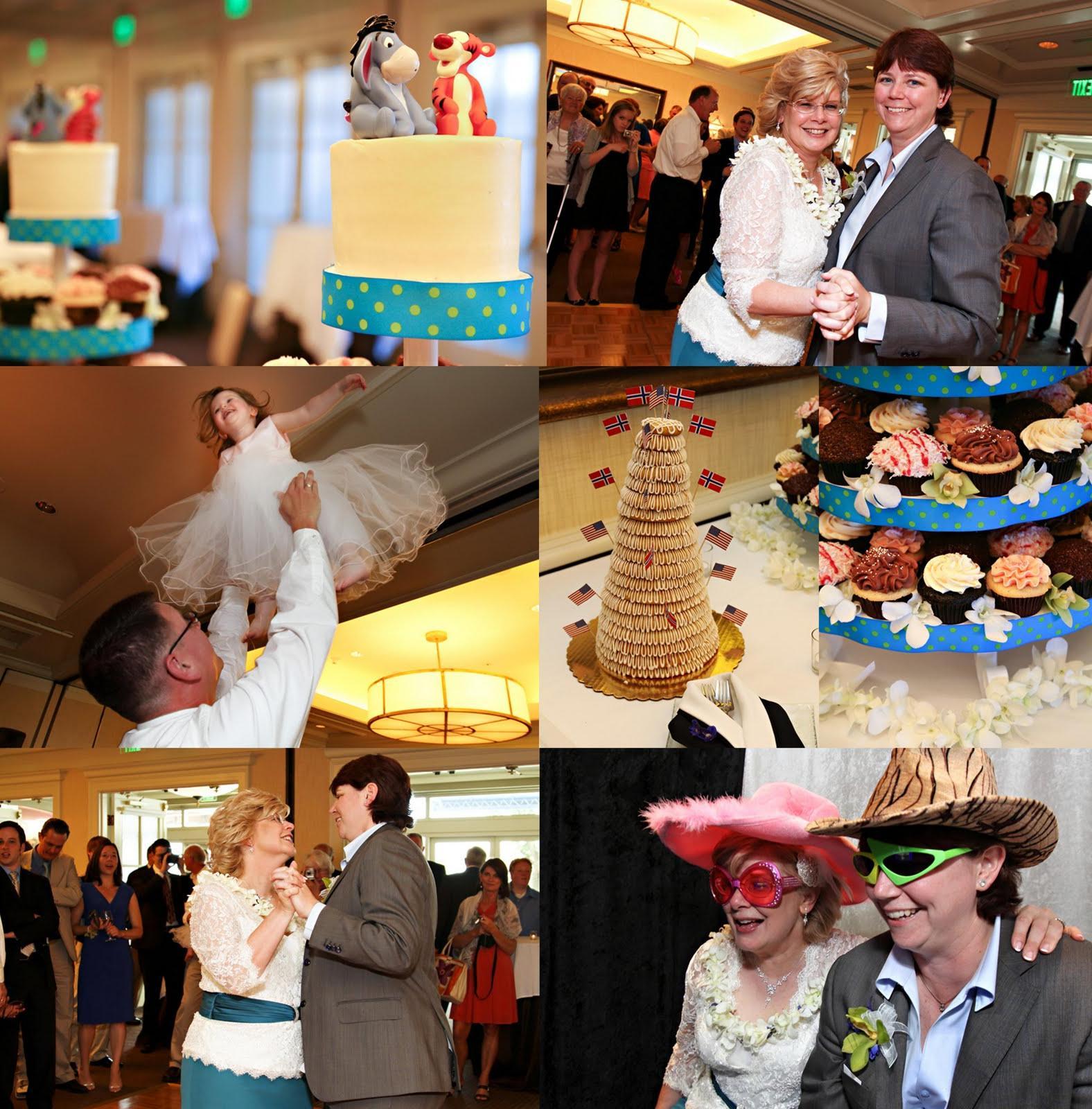 Norwegian wedding cake,