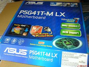 Caja de la placa base Asus Asus P5G41T-M LX