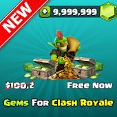 Gems Golds For Clash Royale Prank