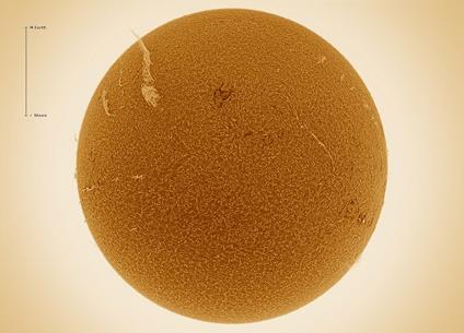 longo filamento solar