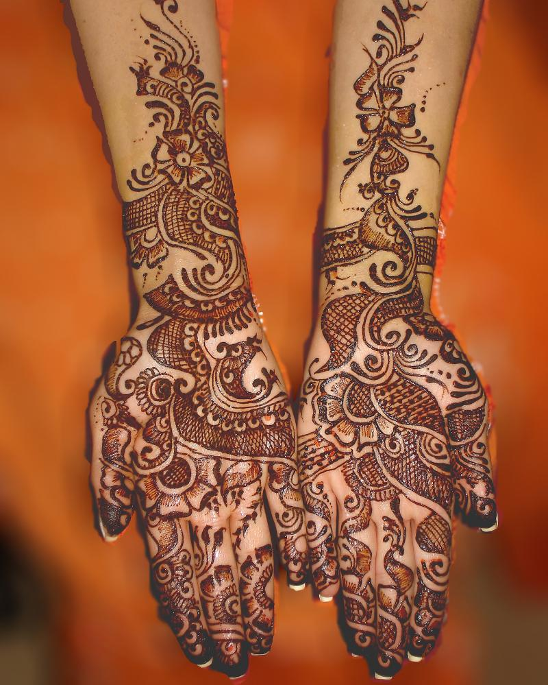 Arabic Mehndi Designs For