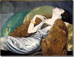 La mujer sobre el sofá, 1930