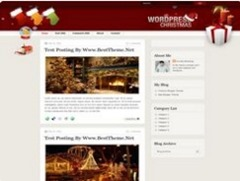 рождество тема blogspot