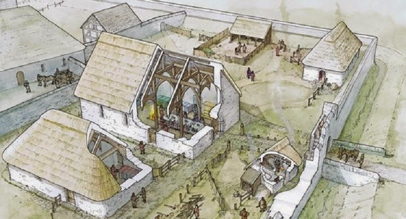 Medieval court to be rebuilt in Wales