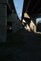 Gardiner Expressway, Toronto, July 2010: Multiple exits
