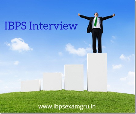 IBPS Interview Clerk PO RRB