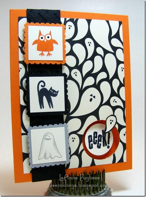 LeAnne Pugliese WeeInklings TSOT239 Spooky Bingo Bits Halloween Stampin Up