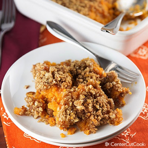 Sweet Potato Casserole {Like Ruth's Chris)