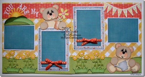 cricut bear sunshine paper piecing country life cartridge-450
