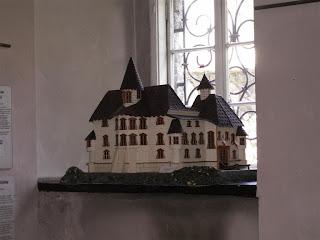 miniatura zamku w muzeum pińczowskim