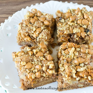 Apple Butterscotch Snack Cake
