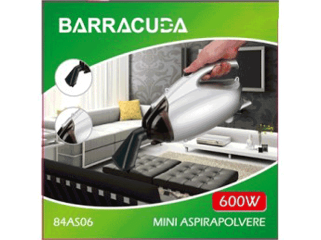 Mini aspirapolvere barracuda 84as06 offerta vendita online for Mini aspirapolvere
