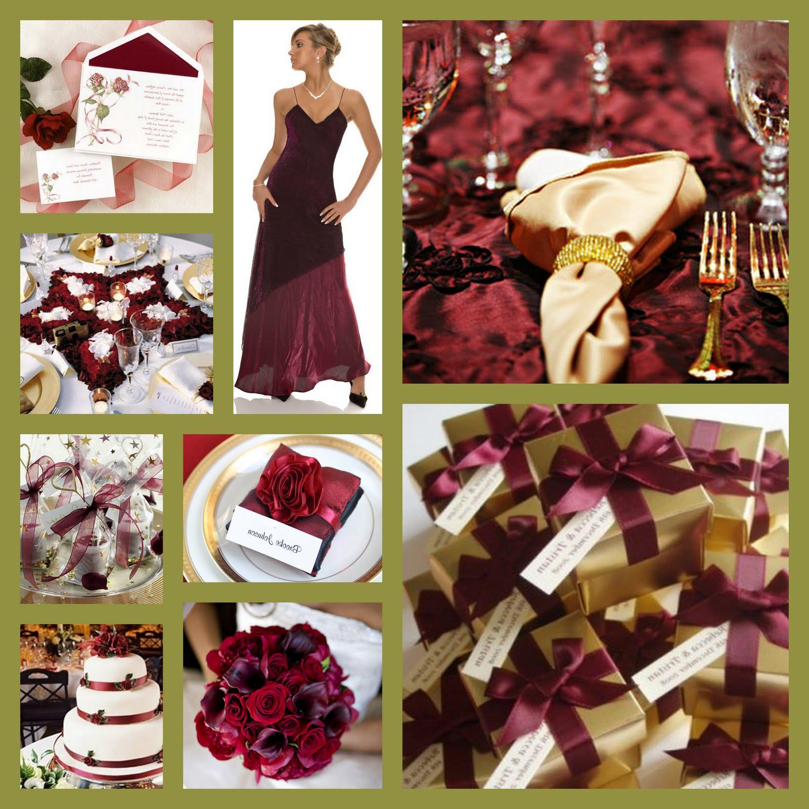 Burgundy & Gold Wedding. 4.bp.blogspot.com