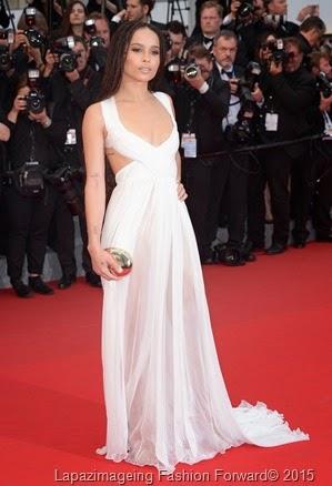 Zoe Kravitz in Valentino Haute Couture