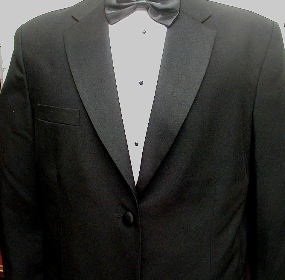 New Mens 4 Piece Tuxedo Suit,
