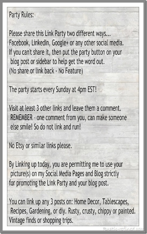 Link Party Rules Collage 796 wide
