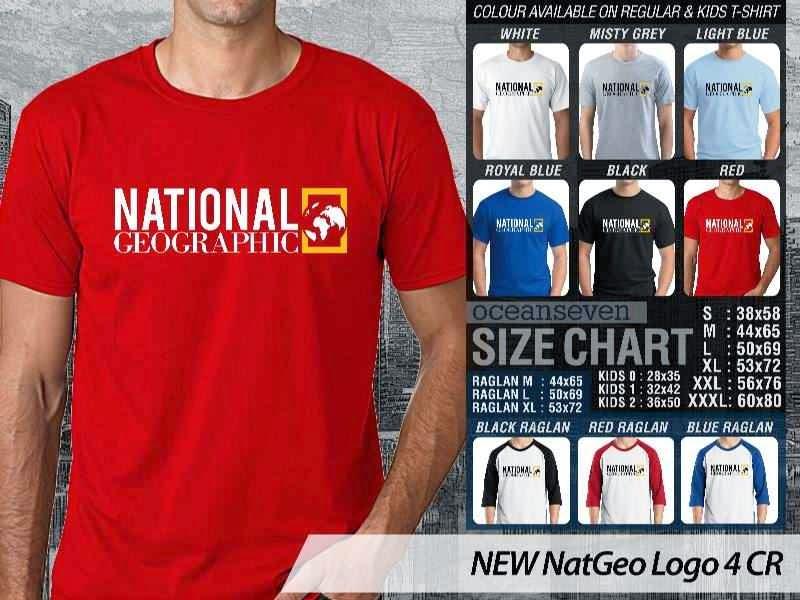 Kaos National Geographic NEW Nat Geo Logo 4 distro ocean seven