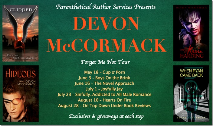 Devon McCormack FMN Tour Banner
