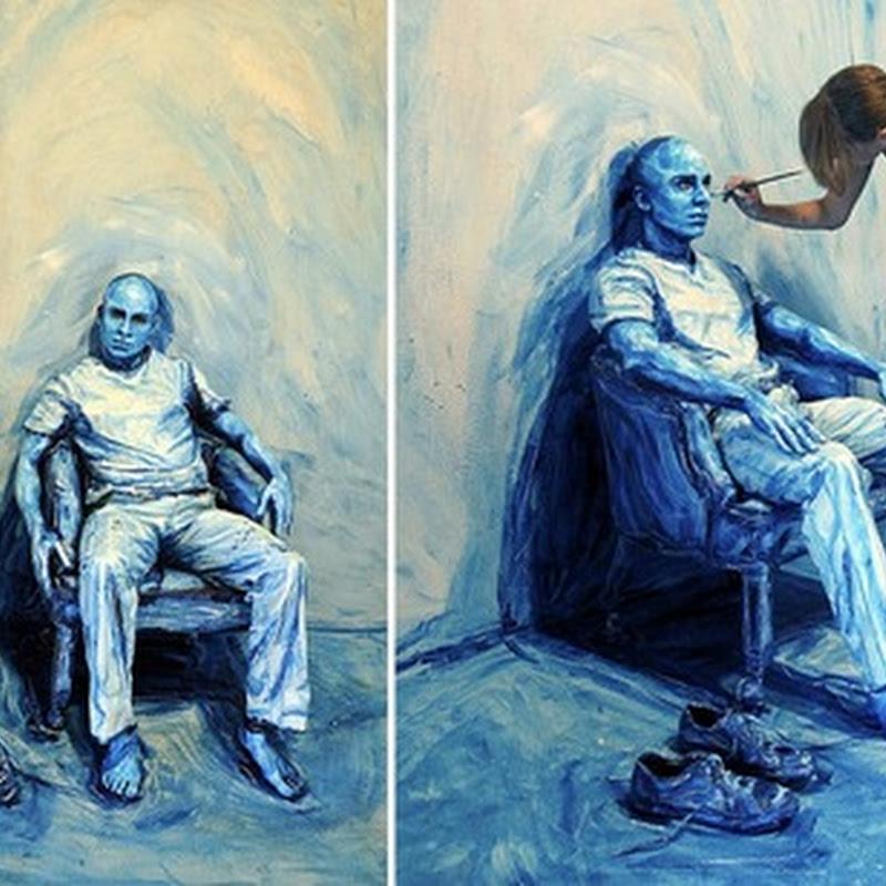 Artist Paints A Pretty Picture.