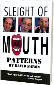 Cover of David Barron's Book Nlp Sleight Of Mouth Patterns