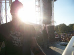 The sun was in my eyes the whole show...I couldn't see anybody but Scotty