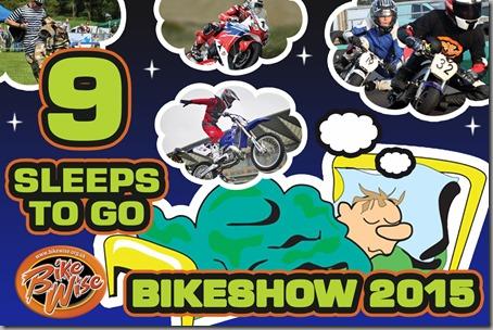 Bikewise Countdown (9 sleeps) Graphic