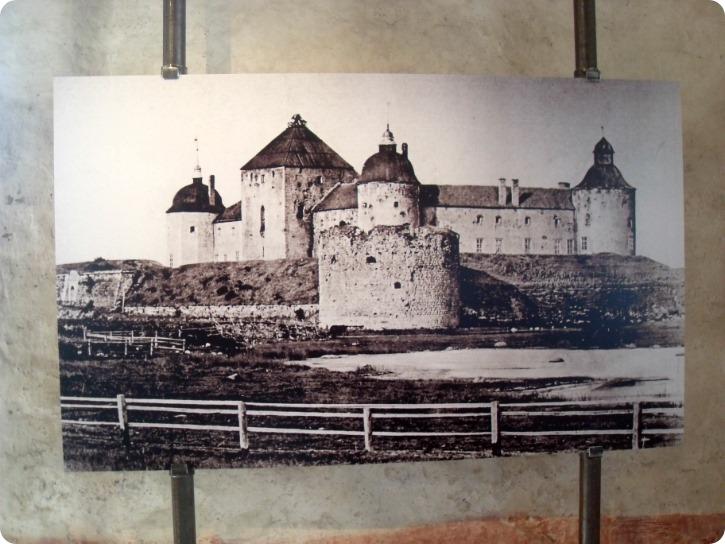 Genopbygningen af Kalmar Slot - slottet som det så ud efter forfald