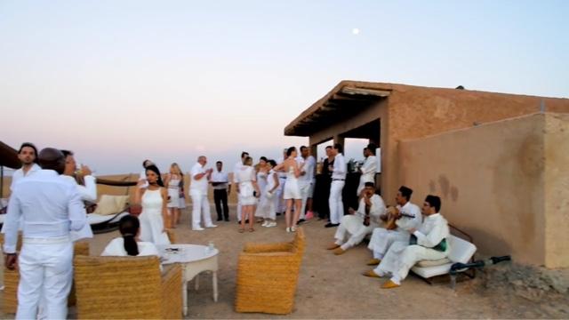 morocco marrakech la pause white sensation wedding